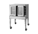 Blodgett MARKVXCELRI DBL 4803 Roll In Double Deck Gas Xcel Convection Oven, 6 in Legs, 480/3