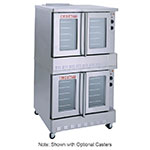 Blodgett SHO-100-GDOUBLE Double Full Size Gas Convection Oven - NG
