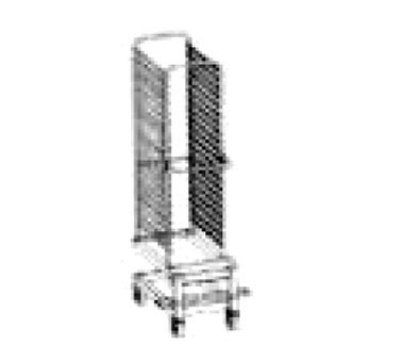 Blodgett TC 14 Stainless Transport Cart, Holds 26 Standard/Universal Rack Guides
