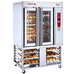 Blodgett XR8 GS/STAND Gas Rotating Rack Oven - S