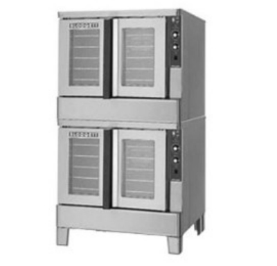 Blodgett ZEPH-100-E DBL Double Full Size Electric Convection Oven - 208v/3ph