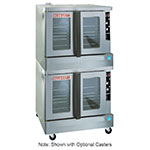 Blodgett ZEPH-100-G DBL Double Full Size Gas Convection Oven - LP