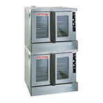 Blodgett ZEPH-100-G DBL Double Full Size Gas Convection Oven - NG