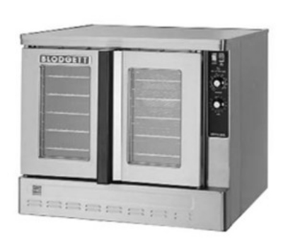 Blodgett ZEPH-100-GBASE Full Size Gas Convection Oven - NG