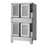 Blodgett ZEPHAIRE-200-GD Double Deep Depth Gas Convection Oven - LP