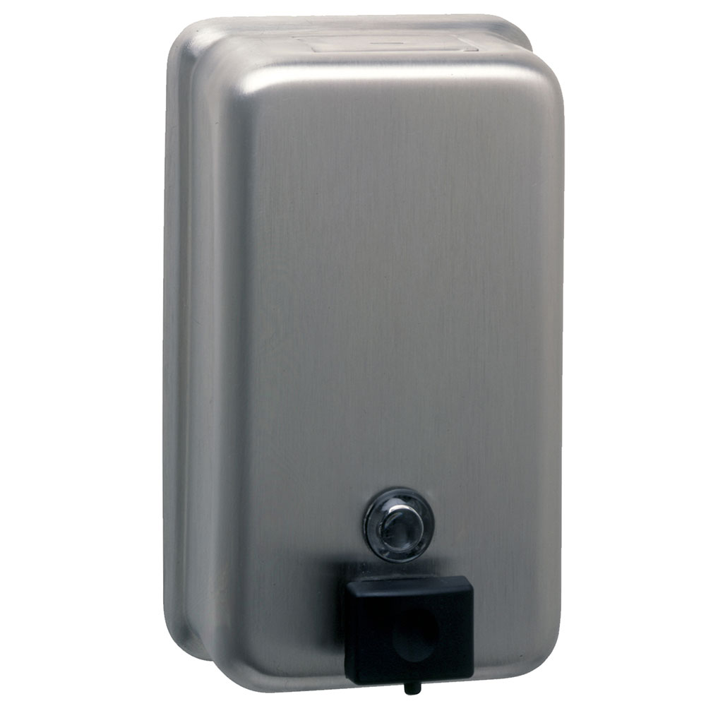 Bobrick B2111 Classic Series Surface Mounted Soap Dispenser, Vertical