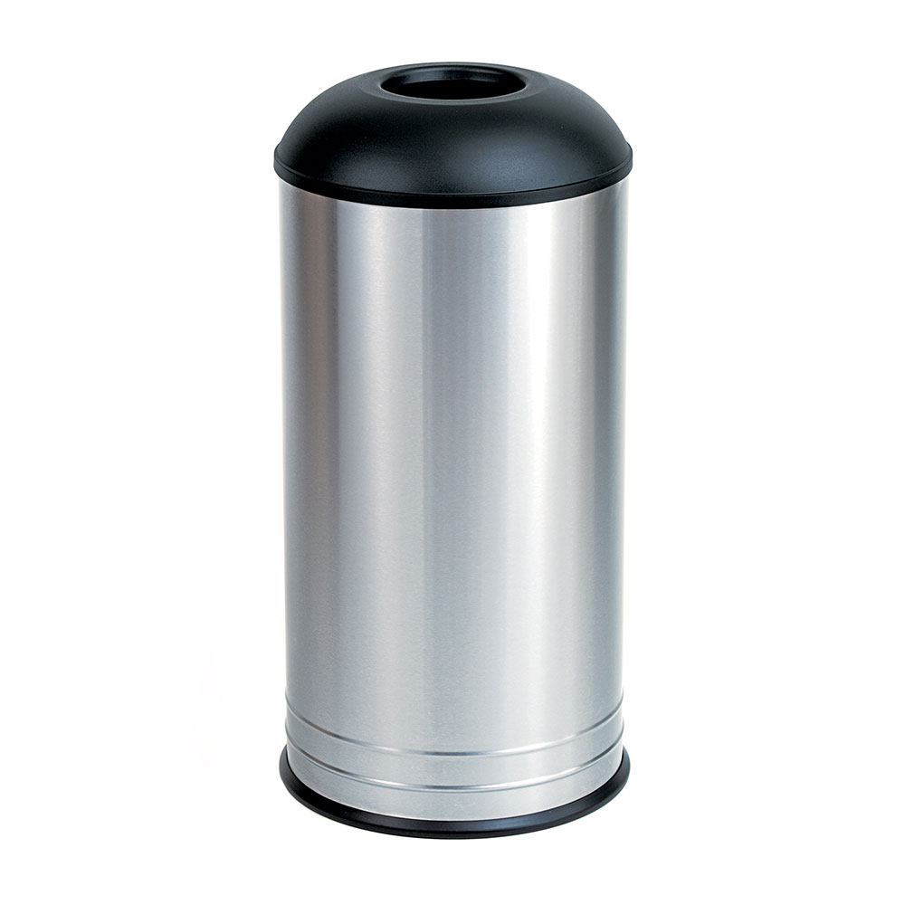 Bobrick B2300 Floor Standing Dome Top Waste Receptacle, 15 Gallon Capacity