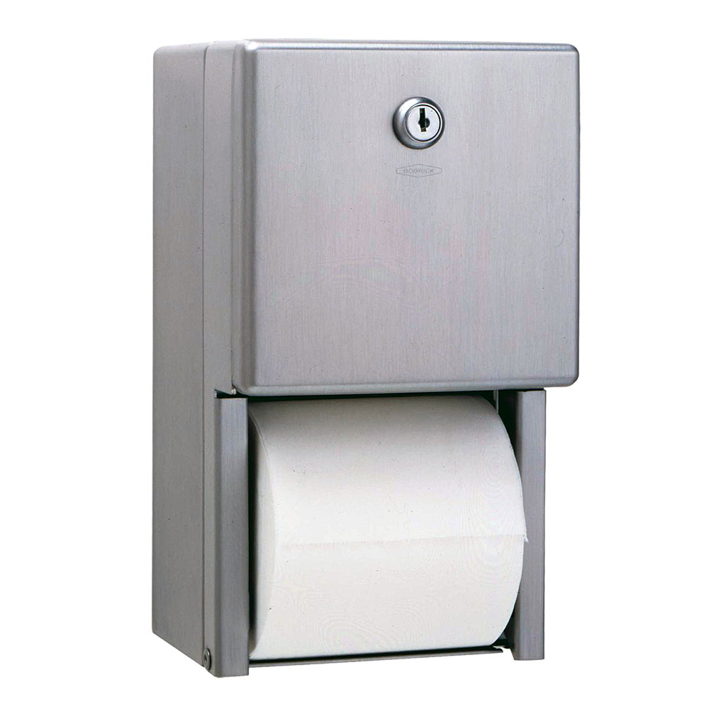Bobrick B2888 Classic Series Surface Mounted Multi Roll Toilet Tissue Dispenser