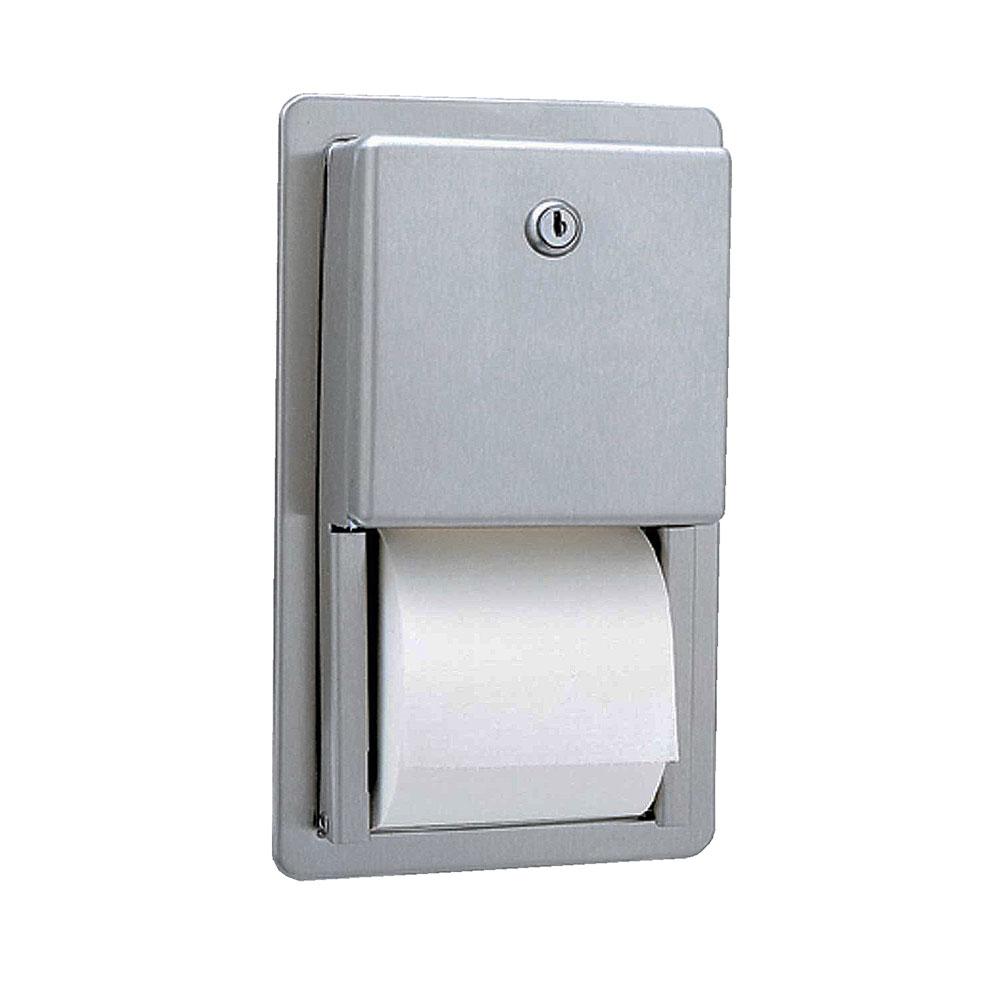Bobrick B3888 Classic Series Recessed Multi-Roll Toilet