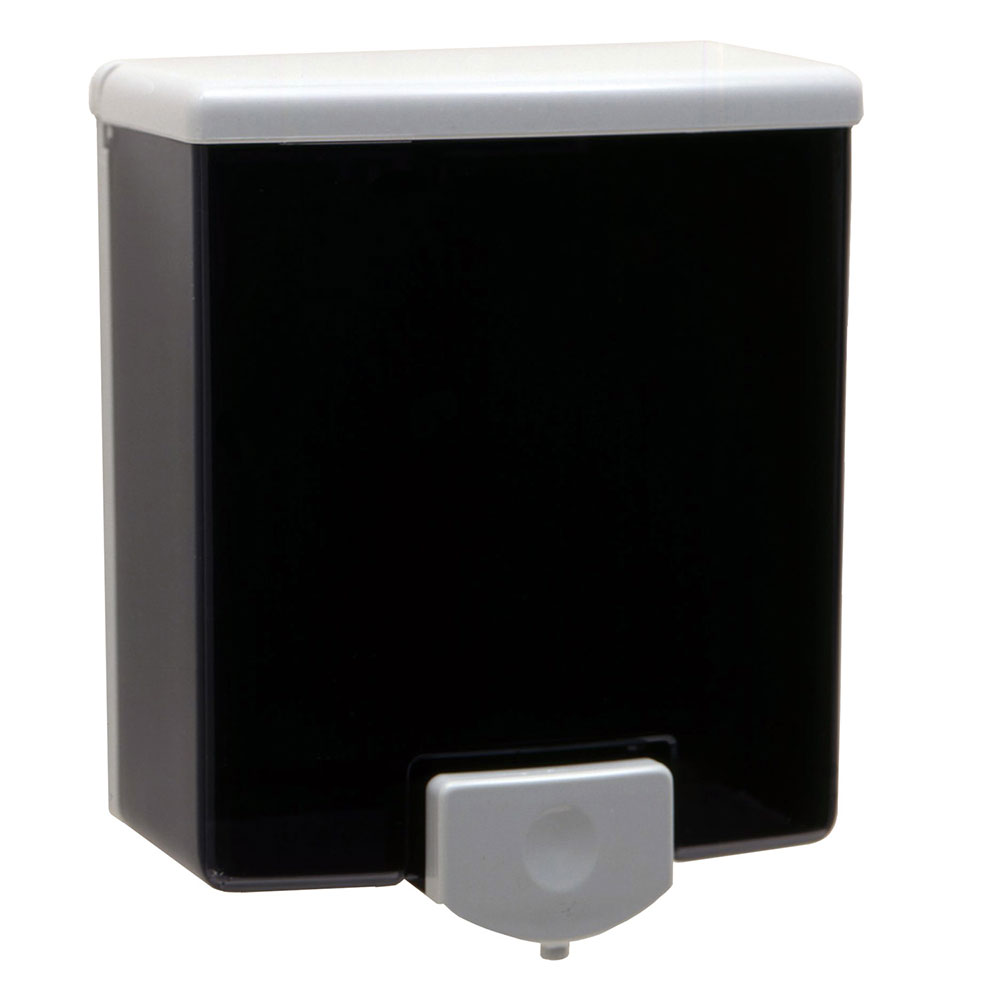 Bobrick B40 Classic Series Surface Mounted Soap Dispenser, Black & Gray
