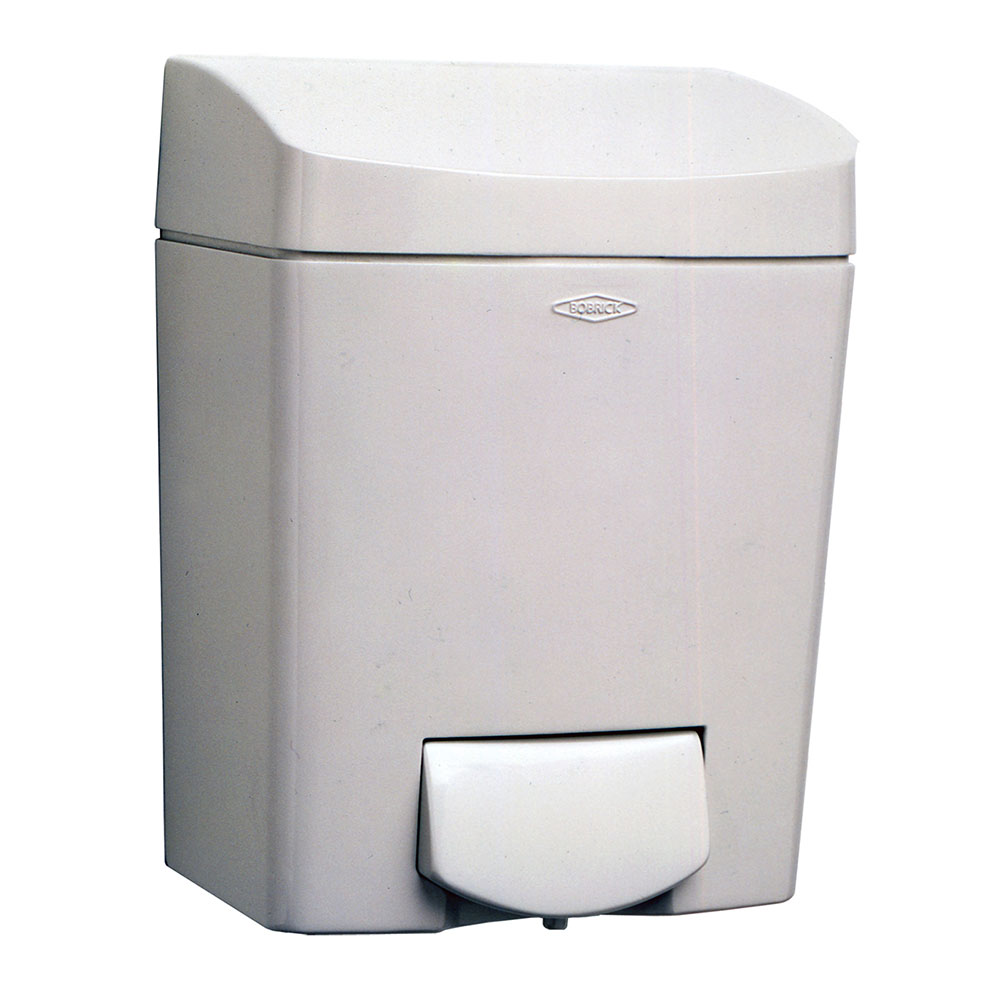 Bobrick B5050 Matrix Series Surface Mounted Soap Dispenser, Grey Polymer