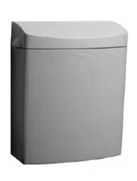 Bobrick B5270 Matrix Series Surface Mounted Sanitary Napkin Disposal Unit