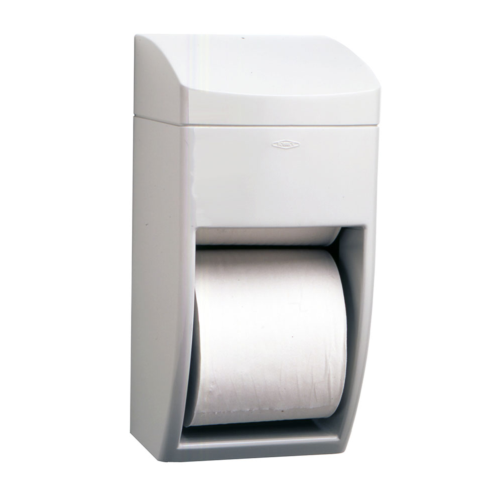 Bobrick B5288 Matrix Series Surface Mounted Multi-Roll Toilet Tissue Dispenser, Plastic