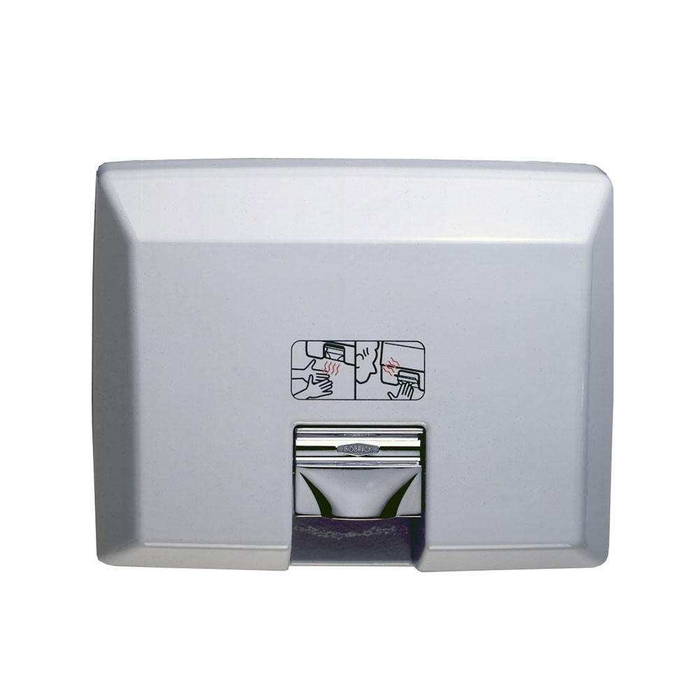 Bobrick B750230V AirCraft Recessed Hand Dryer with Automatic Sensor, 208-240 V