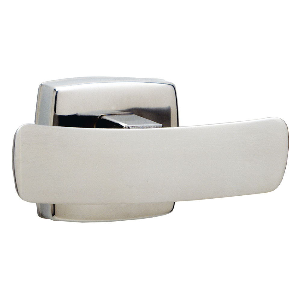 Bobrick B76727 Classic Series Double Robe Hook, Satin Finish