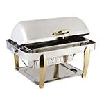 "Bon Chef 10040 Rectangular Manhattan Chafer, Vented Lid, 27.5 x 18.75 x 18.5"" H"