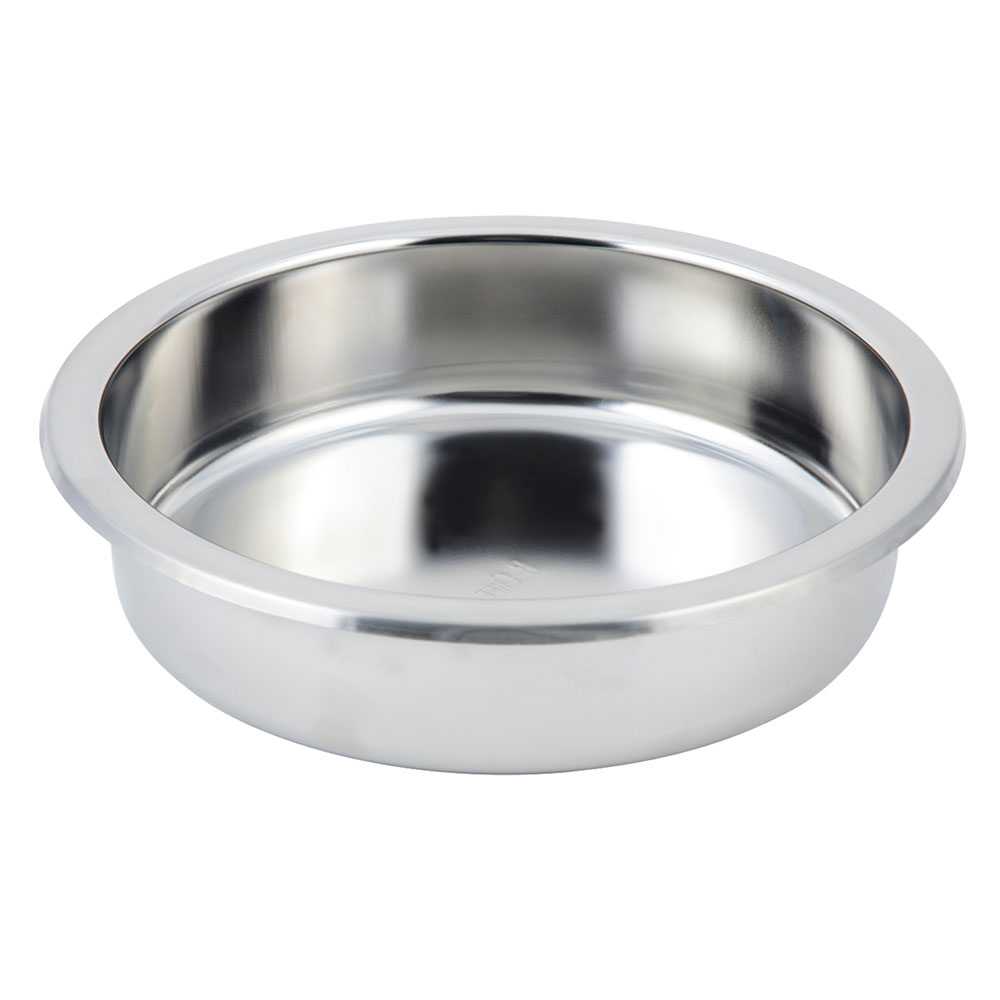 "Bon Chef 12021 10.75"" Round Chafer Food Pan"
