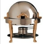 Bon Chef 17014G 3-Qt Chafer w/ Gold Accent, Renaissance
