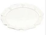 "Bon Chef 2062P 20"" Round Platter, Aluminum/Pewter-Glo"
