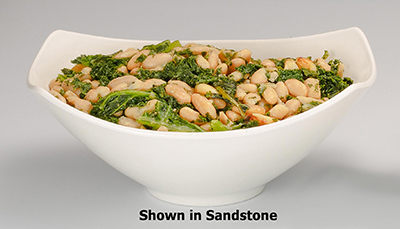 "Bon Chef 2513P 11.75"" Aluminum Gondola Bowl w/ Pewter-Glo Finish"