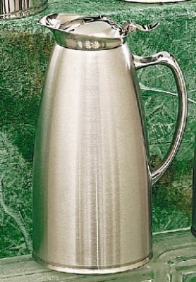 Bon Chef 4054S 1.5-qt Insulated Pitcher Server, Stainless w/ Satin Finish