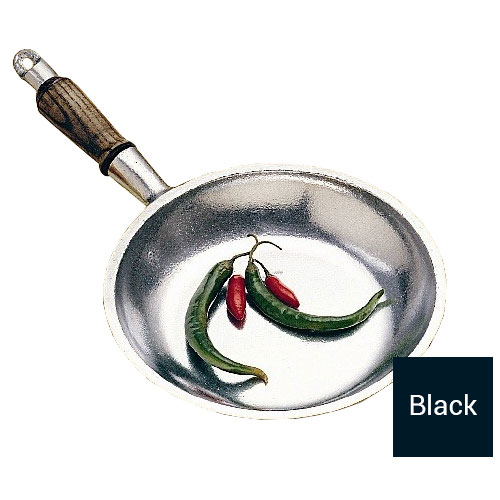 "Bon Chef 5003S 8"" Aluminum Crepe Pan w/ Short Handle"