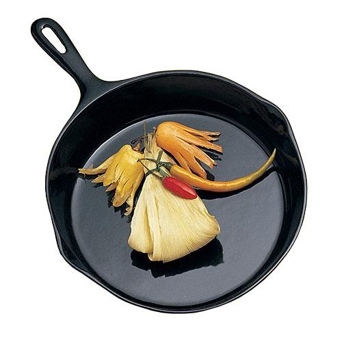 "Bon Chef 5026P 10.5"" Aluminum Frying Pan w/ Solid Metal Handle, Pewter"