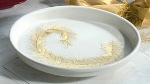 "Bon Chef 50695051S BLK 12.75"" Pedestal Casserole Dish, Aluminum/Black"
