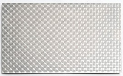 Bon Chef 52112 Double Size Tile Inset, Circles, Stainless Steel