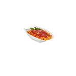 Bon Chef 53704 2-qt Curved Rectangular Serving Bowl - White