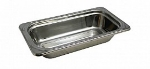 "Bon Chef 5615 1/3-Size Food Pan, 2.5"" Deep, Arches, Stainless Steel"