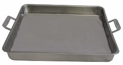 Bon Chef 60012CLD 5-qt Cucina Food Pan w/ Handles, Clad, Stainless Steel