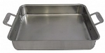 Bon Chef 60013CLD 3-qt Cucina Food Pan w/ Handles, Clad, Stainless Steel