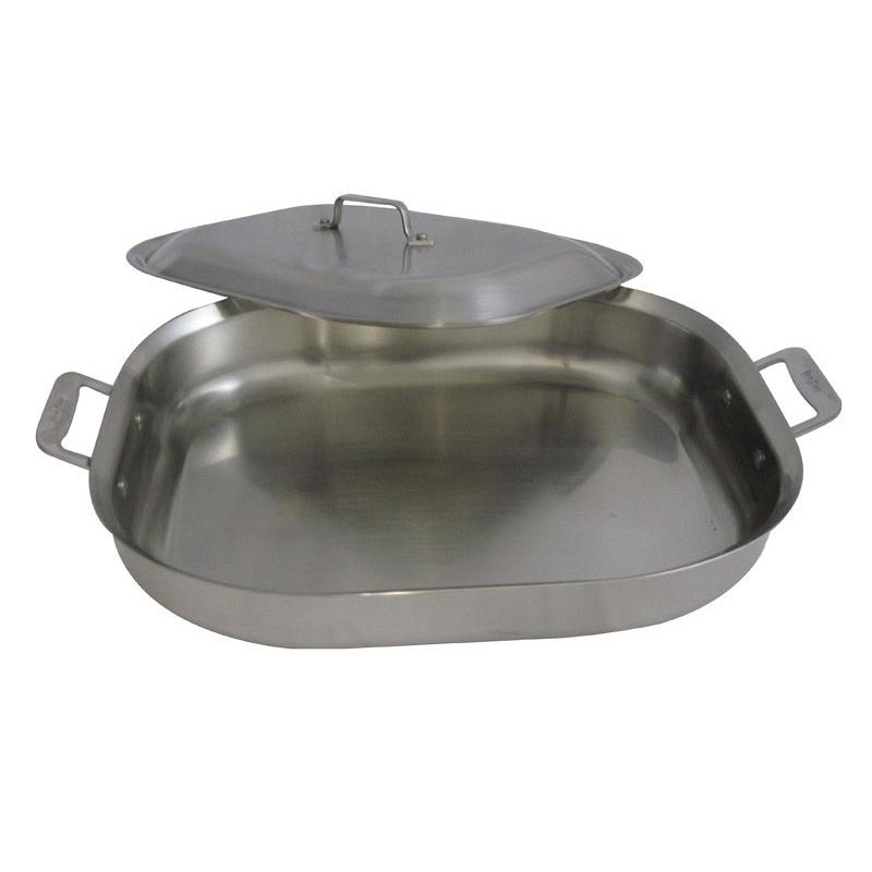 Bon Chef 60023CLD 5-qt Stainless Steel Braising Pot