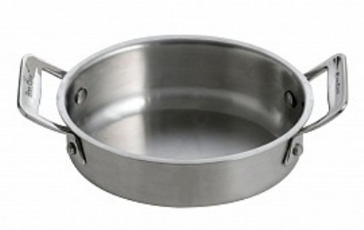 Bon Chef 60028 24-oz Oval Cucina Casserole Dish, 18/8 Stainless
