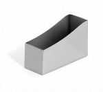 Bon Chef 61303 Sugar Packet Holder, 4.25 x 2-1/8 x 2.5-in Stainless Steel