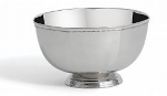 "Bon Chef 61321 8"" Paneled Bowl, Stainless Steel"