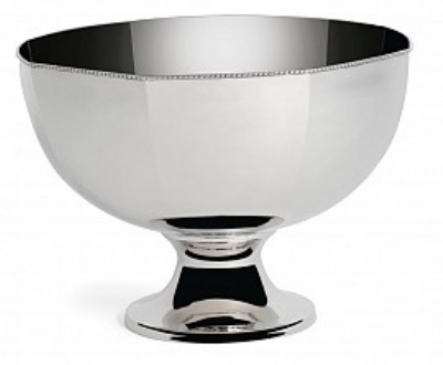 Bon Chef 61322 14-in Punch Bowl w/ Pedestal, Stainless Steel
