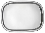 Bon Chef 61350 15.75-in Bar Tray w/ Bead Rim, Stainless