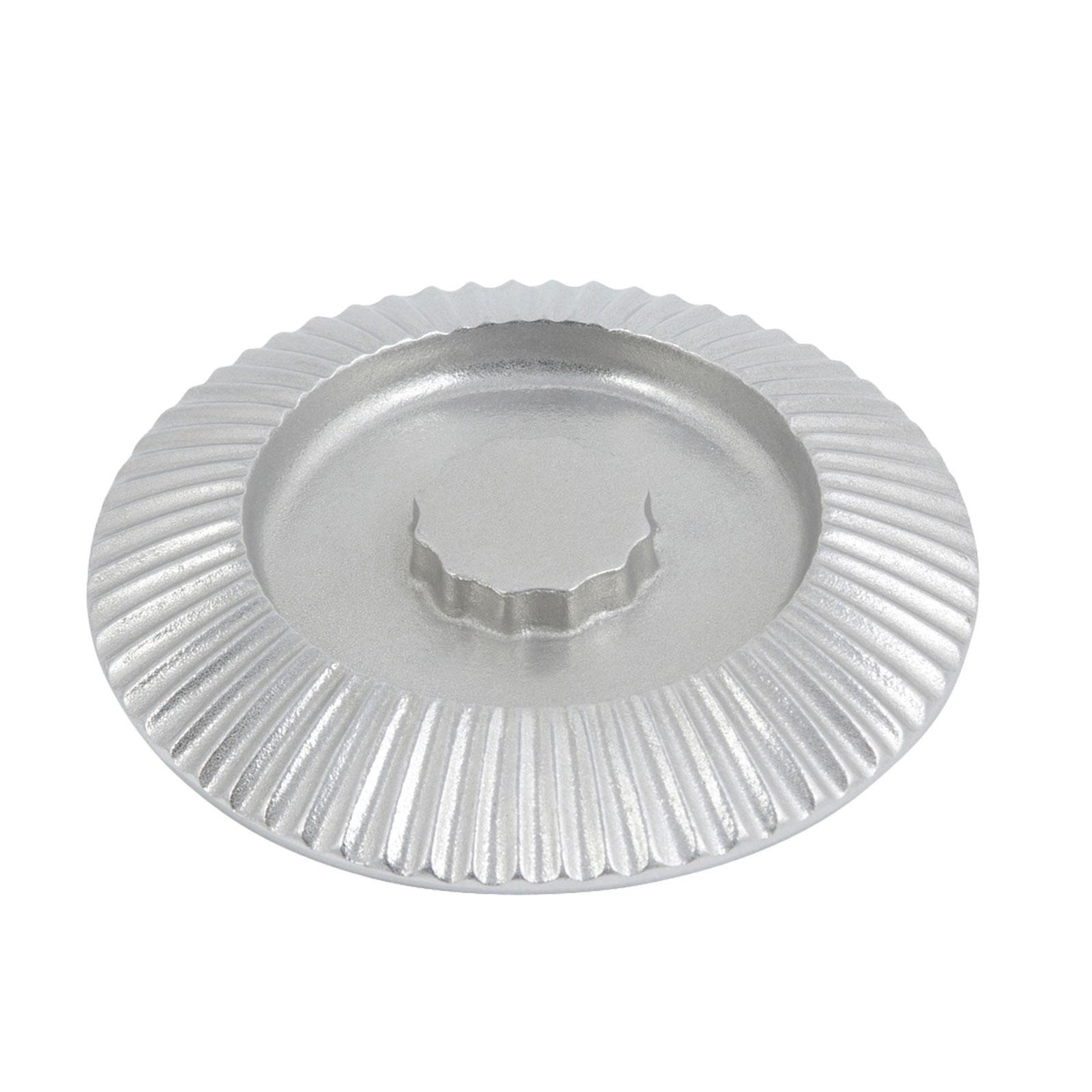 Bon Chef 9000CP Tortilla Bowl Cover, Aluminum/Pewter-Glo