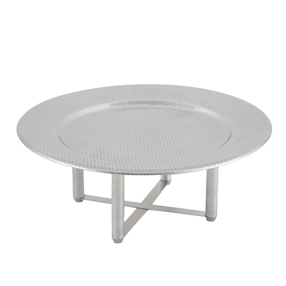 "Bon Chef 9314 13.125"" Round Cold Wave Stand"