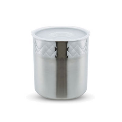 Bon Chef 9321DI 3-gal Cold Wave Ice Cream Container - Triple Wall, Stainless