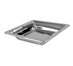 "Bon Chef 9322 12"" Square Cold Wave Platter - Double Wall, Stainless"