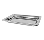 "Bon Chef 9323H 12.75"" Rectangle Platter - Double Wall, Stainless"