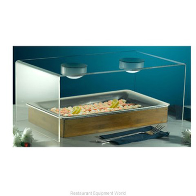 "Bon Chef 9328 24.5"" Cold Wave Breath Guard - Double Sided, Acrylic"