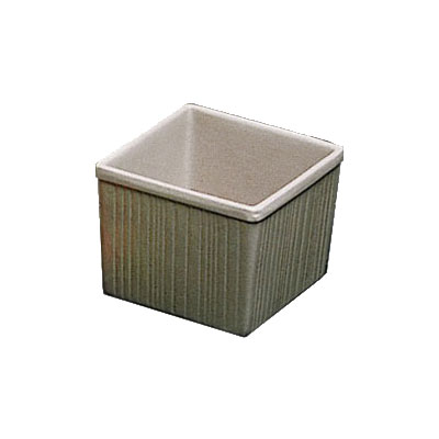 Bon Chef 9502P 2.25-qt Space Saver Garnish Bowl, Aluminum/Pewter-Glo
