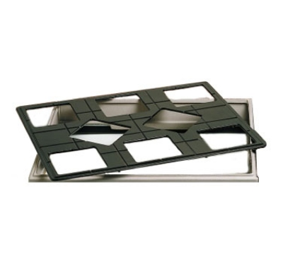 "Bon Chef 960589502P 27"" Custom Cut Tile Tray for (8) 9502, Aluminum/Pewter-Glo"