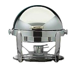 Bon Chef 10001CH 21-in Round Manhattan Non-Dripless Chafer w Vented Lid Chrome