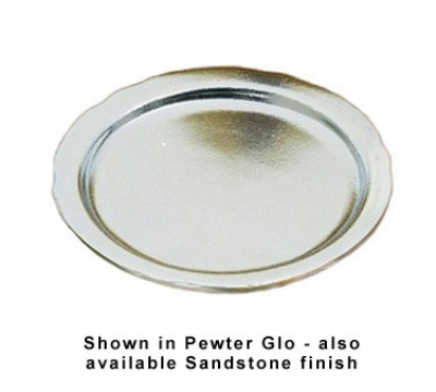 Bon Chef 1028P 5.75-in Bread & Butter Plate, Aluminum/Pewter-Glo