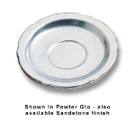Bon Chef 1029P 5.25-in Saucer, Aluminum/Pewter-Glo